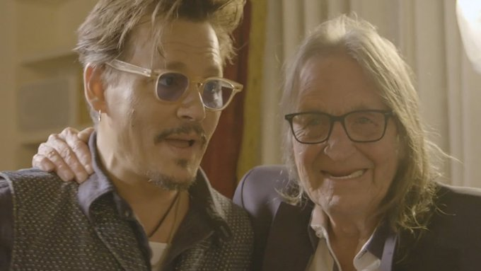 Johnny Depp Gushes Over George Jung in Docuseries Photo