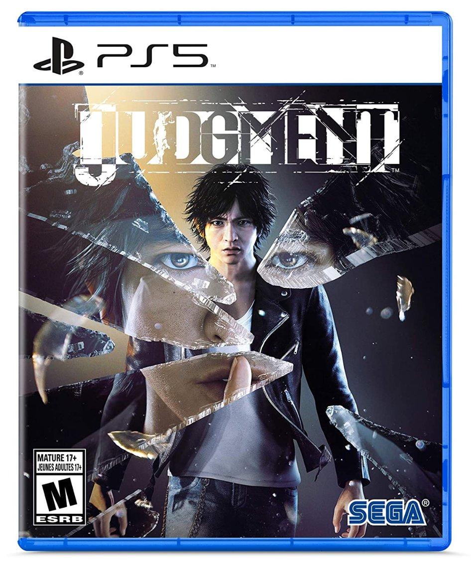 Judgment PS5 $39.99  Amazon USA