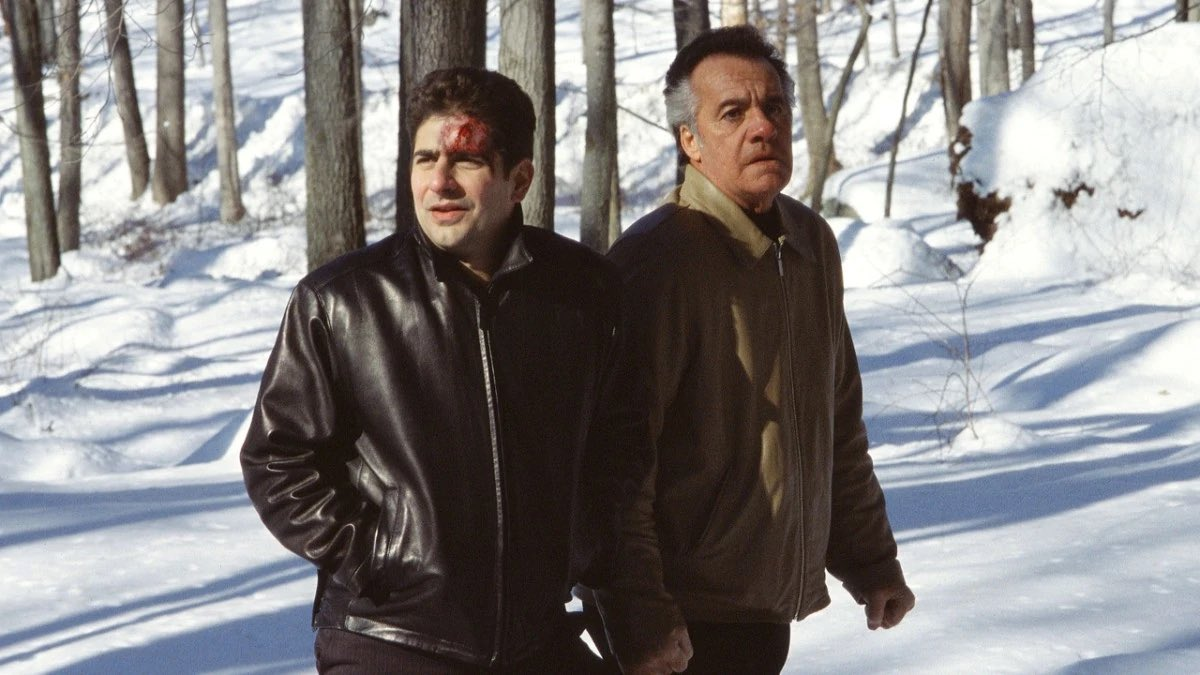 20 years ago today the 'Pine Barrens' episode of The Sopranos aired.   The greatest hour of TV of all time? https://t.co/W36MBgX1Wt