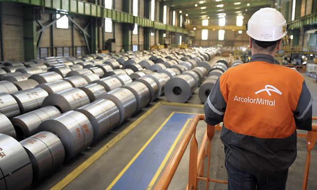 Commodities Boom Grips Steel as ArcelorMittal Profit Surges Photo