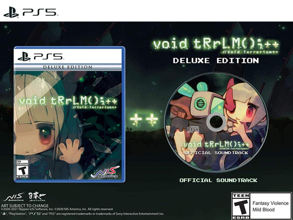 Void Terrarium++  Deluxe Edition PS5 $39.99  Amazon USA