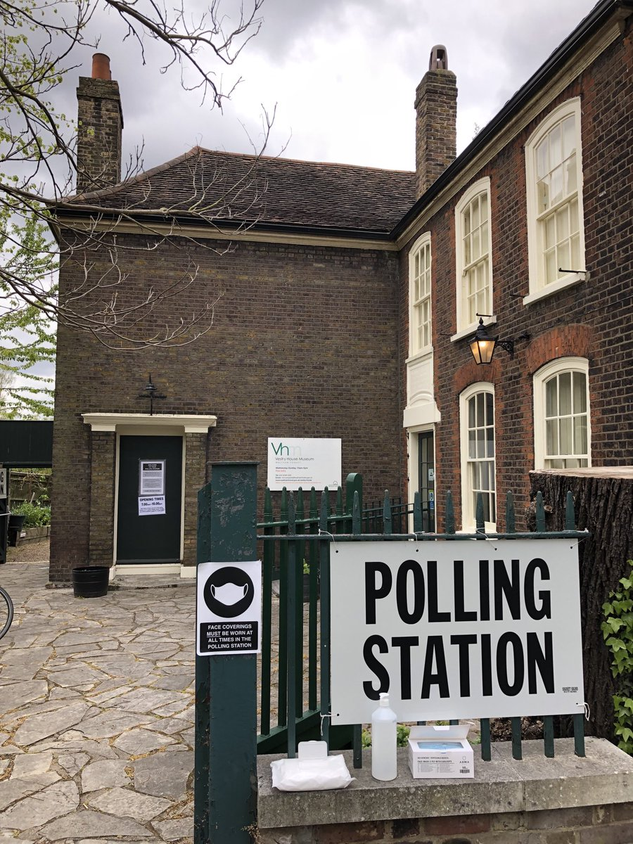 RT @RossLydall: Vestry House Museum in Walthamstow competing for title of London's prettiest polling station https://t.co/O8iEVybJU9