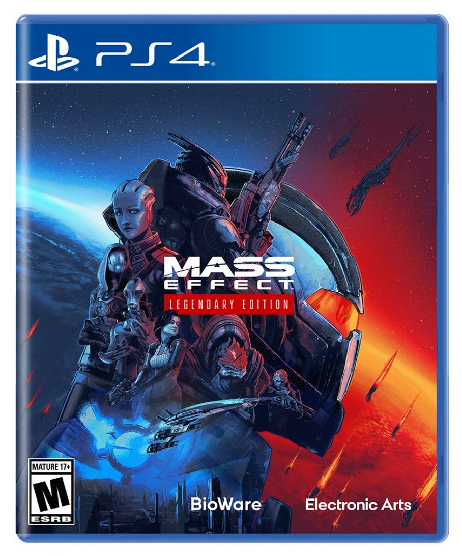 Mass Effect Legendary Edition PS4 $59.88 *PS5 also plays PS4 games    Amazon USA