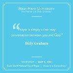 [CALENDAR] #DailyMotivation from Billy Graham. #HPU365