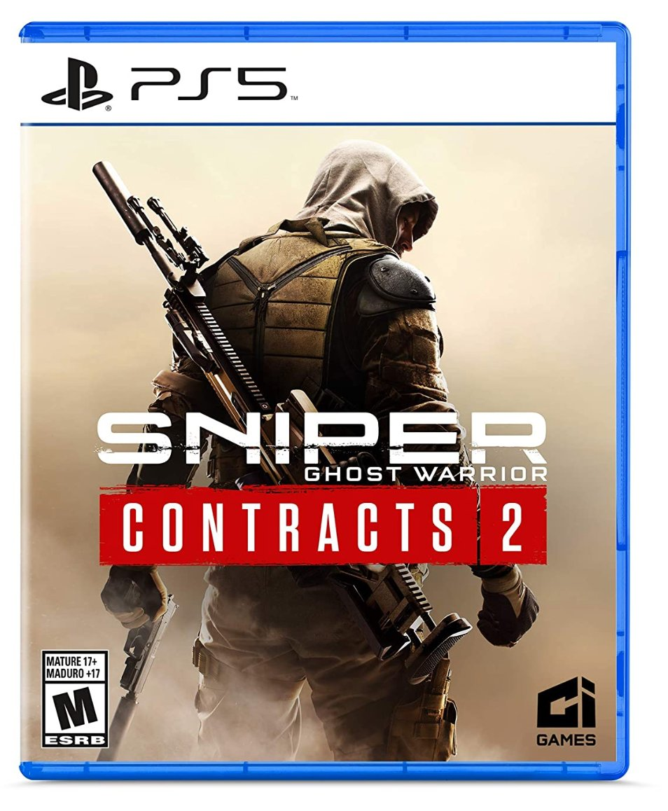 Sniper: Ghost Warrior Contracts 2 PS5 $39.99  Amazon USA