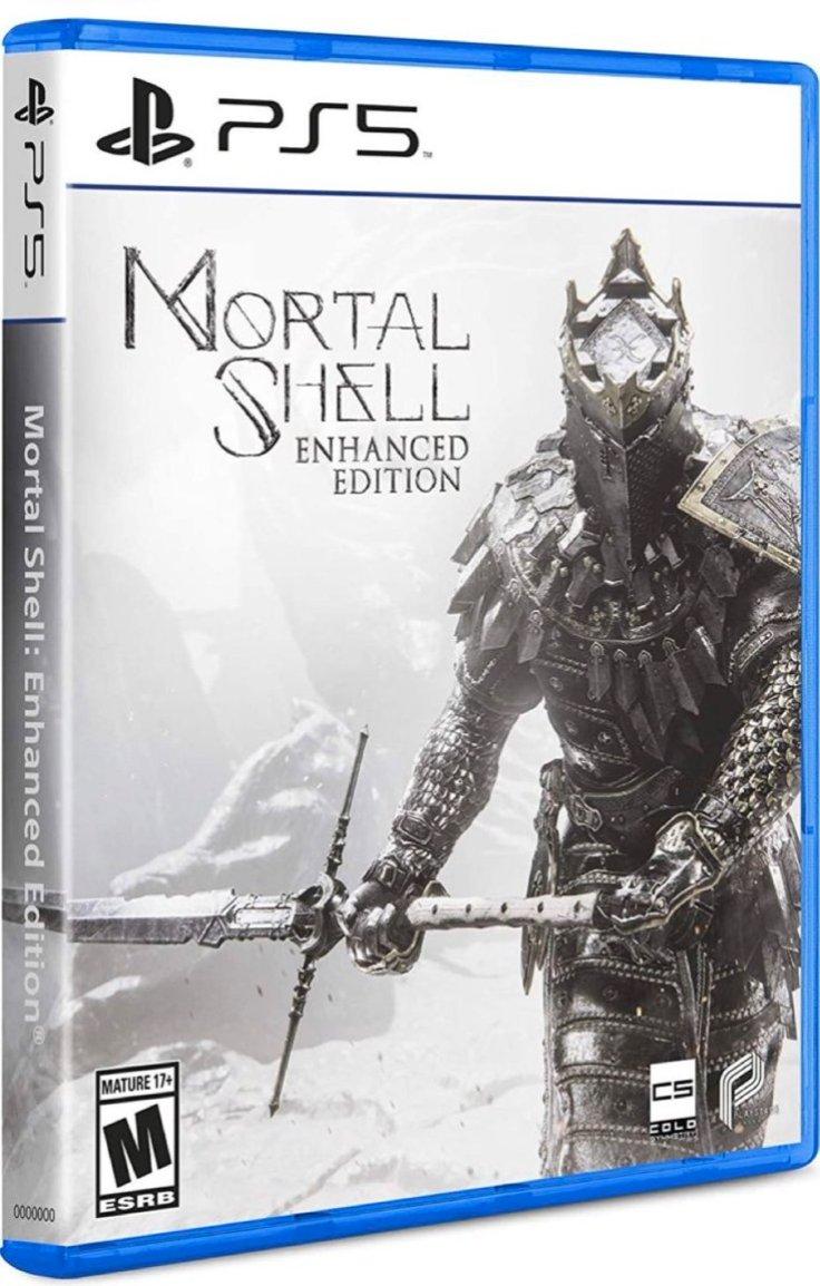 Mortal Shell: Enhanced Edition Deluxe Set PS5 $45.05  Amazon USA