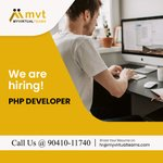 Image for the Tweet beginning: #hiringalerts #phpdeveloper #ludhianajobs #5daysworking