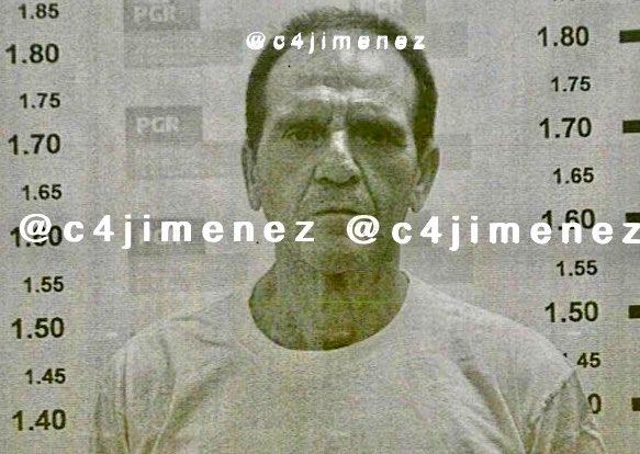 """""""El Güero"""" Palma, ex líder del Cártel de Sinaloa, así luce en su nueva ficha de arraigo"""