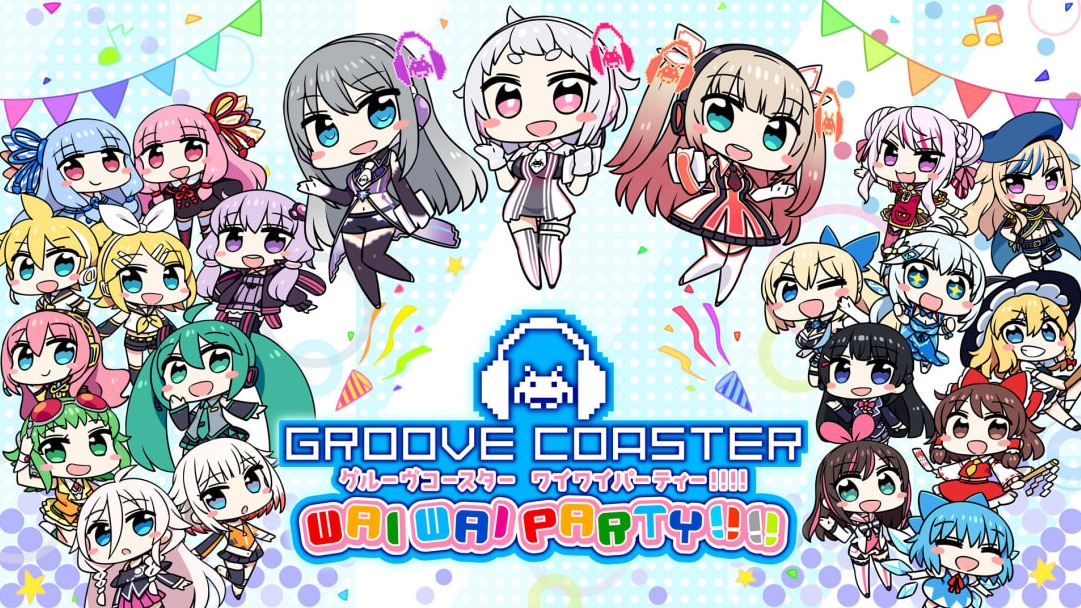 Groove Coaster Wai Wai Party!!!! (Switch) is $59.99 on the eShop