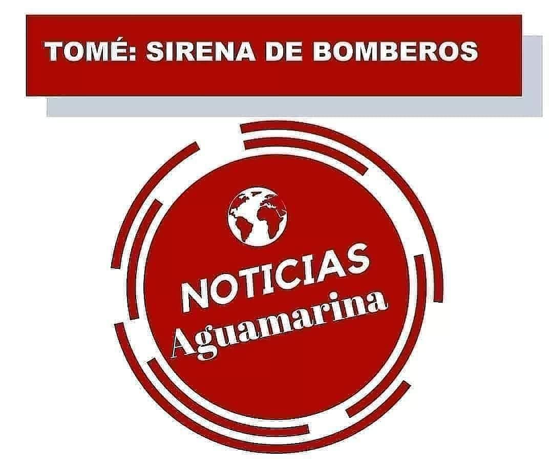 RT @radioaguamarina #PrimerosEnInformar  🔴#AHORA  🚒 #TOMÉ : La alarma del cuerpo de bomberos de la ciudad indica :  ▶️ Accidente vehícular camino a #Pudá, pasado puente #Pingueral.