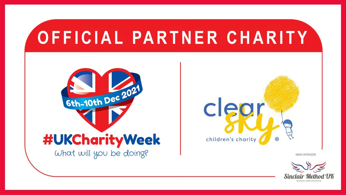 test Twitter Media - It is our absolute pleasure to once again have @ClearSkyCharity as an Official Partner #Charity of #UKCharityWeek 2021!   If you would like to find out more about the amazing work they do, please visit: https://t.co/cEcqh6keO2 https://t.co/WlUzOUOCVi