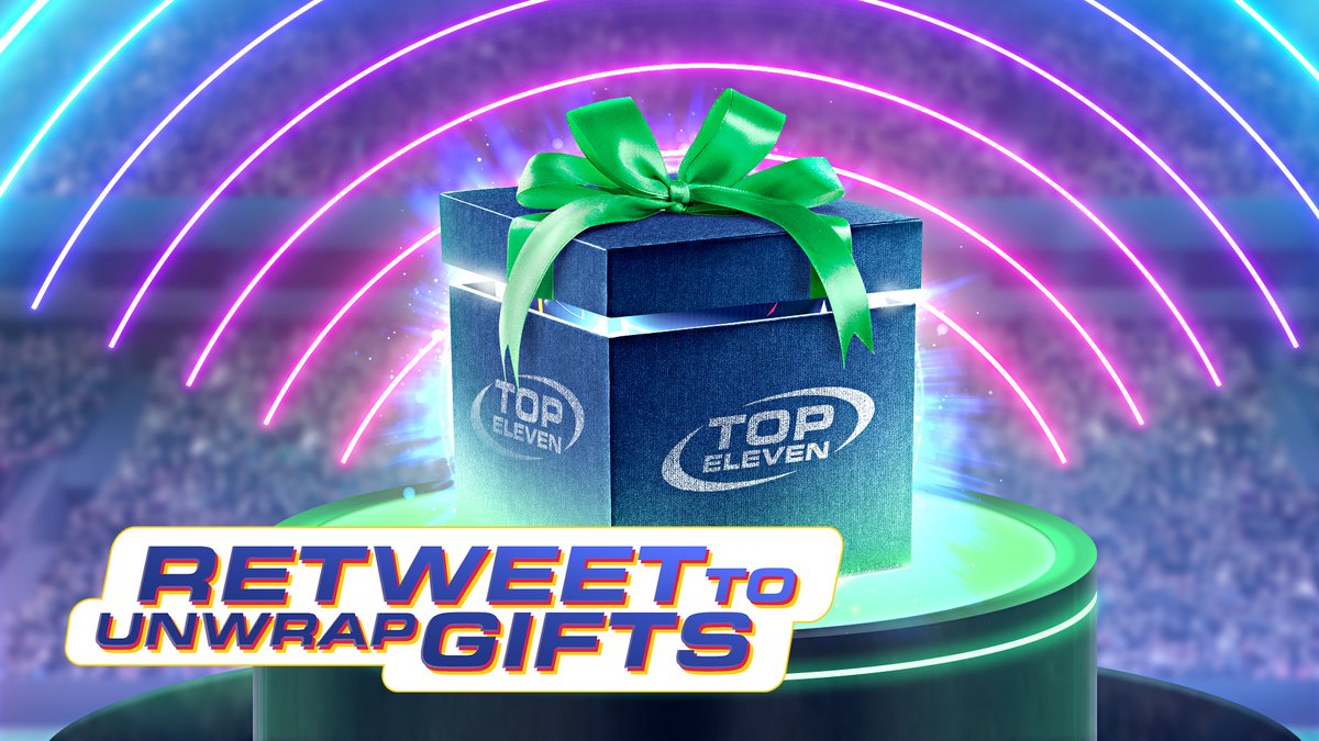 Birthday gifts are ready, but we need your help to unwrap them before May 9th!   Join forces and help us hit 1⃣1⃣K RETWEETS together in time for #TopEleven's birthday.   The special gifts will be sent to ALL Managers on May 9th. Let's do this! 🎁 https://t.co/FmVKm8SGUJ