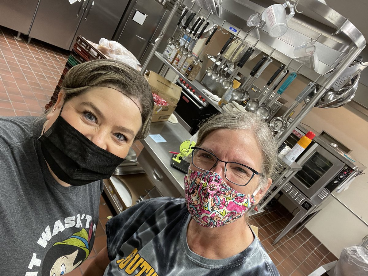 Let the Mitchellville Kitchen Superheroes know how marvelous they are every day!