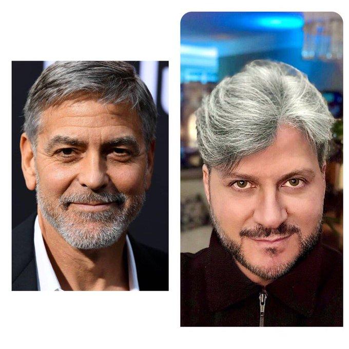 George Clooney faz 60 anos hoje happy birthday - eu fiz em fevereiro (rsrsrs