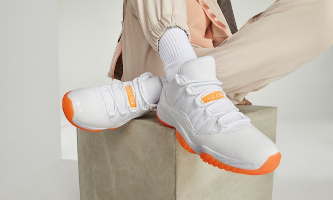 Women's Air Jordan 11 Low 'Bright Citrus'