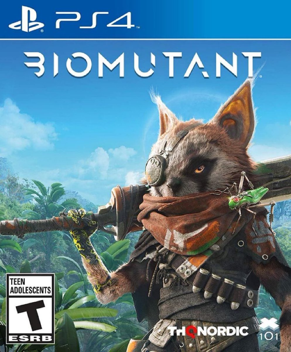 Biomutant PS4 $59.99  *PS5 also plays PS4 games  Amazon USA