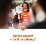 Image for the Tweet beginning: Do you support Critical Race