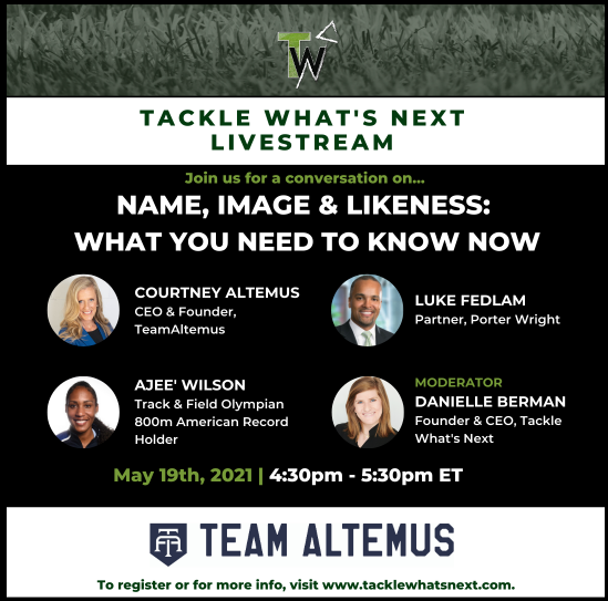 This will be a great conversation with @danielleberman_ @TeamAltemus and @AjeeW!!  Be sure to register and mark your calendar! https://t.co/mTyqngo9Qr