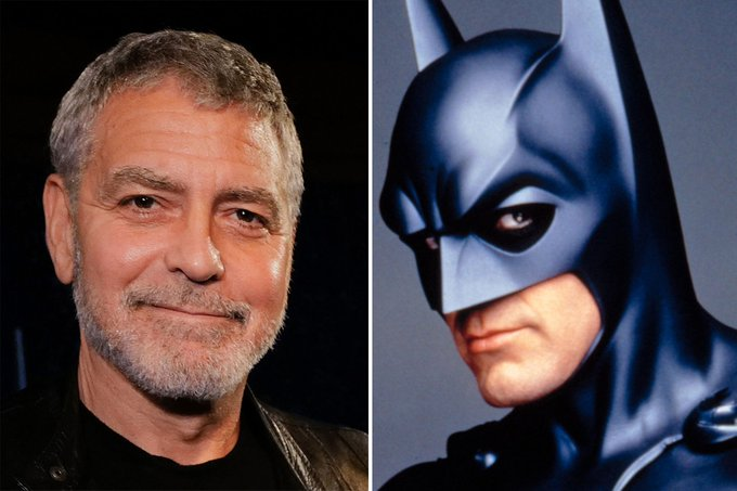 Happy 60th Birthday to George Clooney, who he, himself admits wasn t very good as Batman.