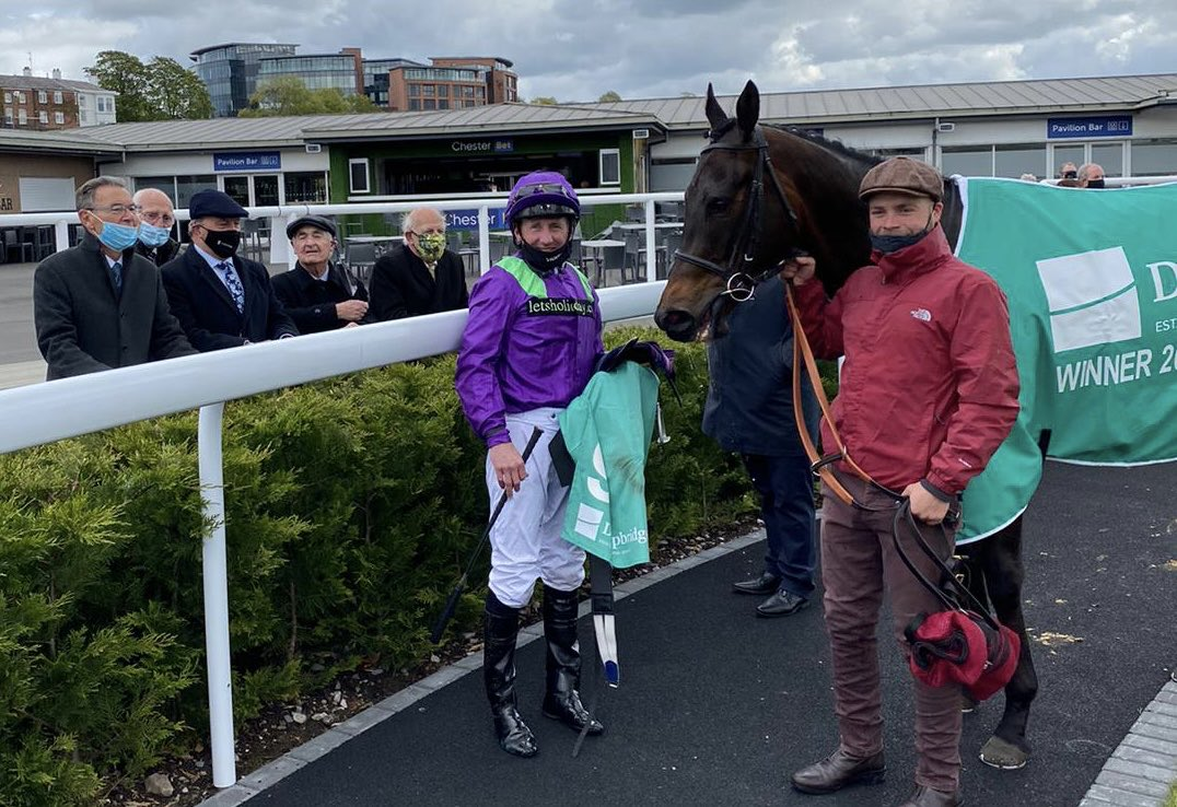 Master Zoffany gets his season going with a good win at Chester. Well done to owners' Let's Go Racing. Fantastic result