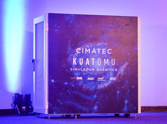 Ontem foi o dia da @Atos e do @SENAI CIMATEC fazerem história!Com o lançamento...