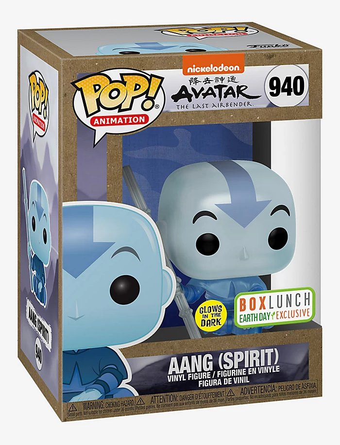 RT & FOLLOW @funkofinderz for a chance to WIN the BoxLunch Exclusive Aang (Spirit) #Funko #FunkoPop #AvatarTheLastAirbender https://t.co/dpXBW4aWlM