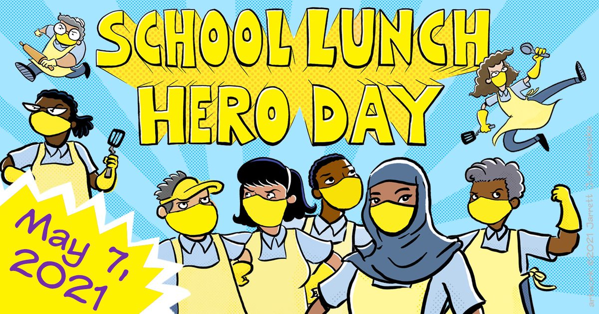 Tomorrow is School Lunch Hero Day! Join us in thanking the hard-working food services team in your school cafeteria and at meal distribution sites. 🦸🍎🍌<a target='_blank' href='http://twitter.com/APSlunchrocks'>@APSlunchrocks</a> <a target='_blank' href='http://search.twitter.com/search?q=SchoolLunchHeroDay'><a target='_blank' href='https://twitter.com/hashtag/SchoolLunchHeroDay?src=hash'>#SchoolLunchHeroDay</a></a> <a target='_blank' href='http://search.twitter.com/search?q=APSEmployeeAppreciationMonth'><a target='_blank' href='https://twitter.com/hashtag/APSEmployeeAppreciationMonth?src=hash'>#APSEmployeeAppreciationMonth</a></a> <a target='_blank' href='http://search.twitter.com/search?q=ThankAPSHeroes'><a target='_blank' href='https://twitter.com/hashtag/ThankAPSHeroes?src=hash'>#ThankAPSHeroes</a></a> <a target='_blank' href='https://t.co/cMdn2tqujb'>https://t.co/cMdn2tqujb</a>