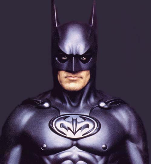 Say hey! Know whose birthday it is today? GEORGE CLOONEY! Happy Bat-birthday!