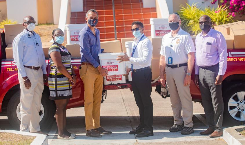 SGU donates 8,000+ meals to St Vincent relief efforts