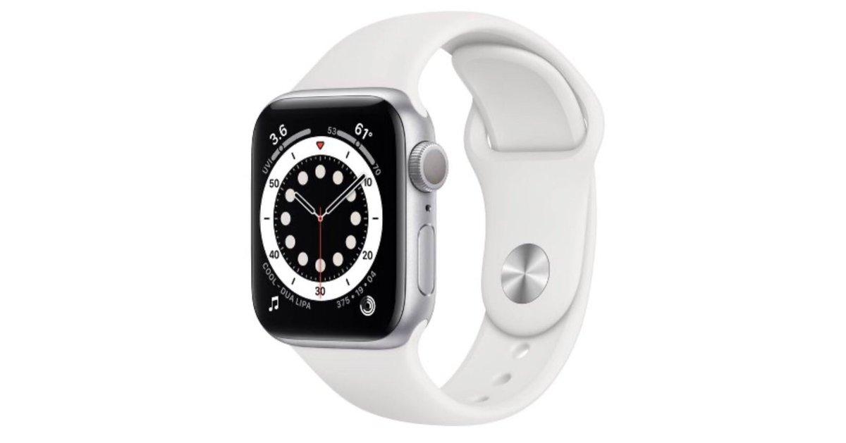 Apple Watch Series 6 GPS Aluminum $50 OFF  WatchSeries6 Watch Deals https://t.co/otZrJmLfjN