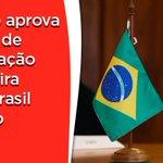 Image for the Tweet beginning: Relatei projeto que aprova acordo