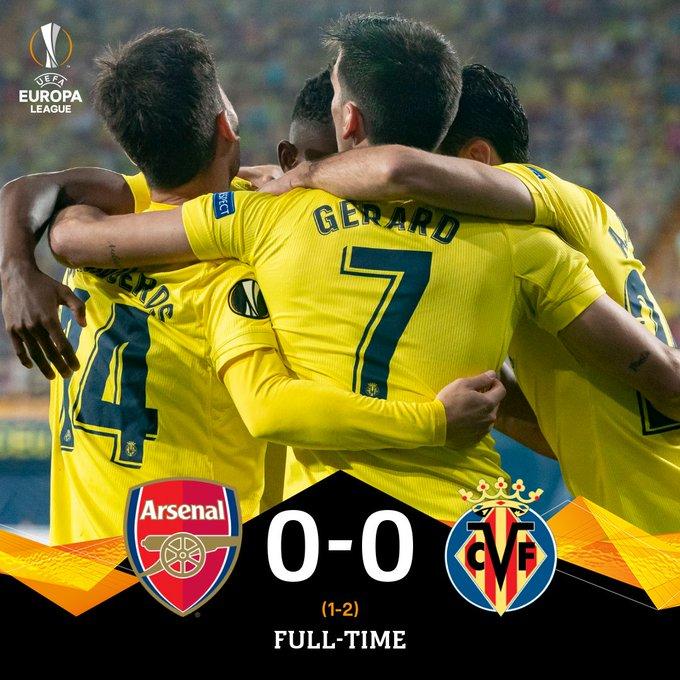 Hasil akhir Arsenal 0-0 Villarreal