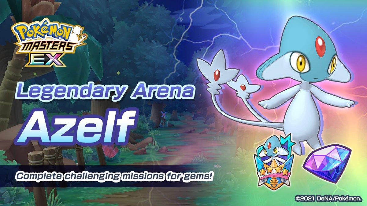 Azelf Pokémon Masters