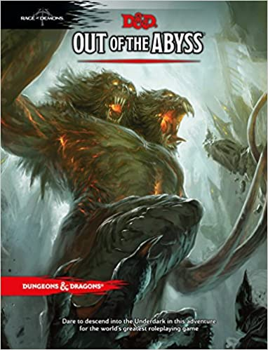 Out of the Abyss  43% off and part of the big buy one get one half off book sale.