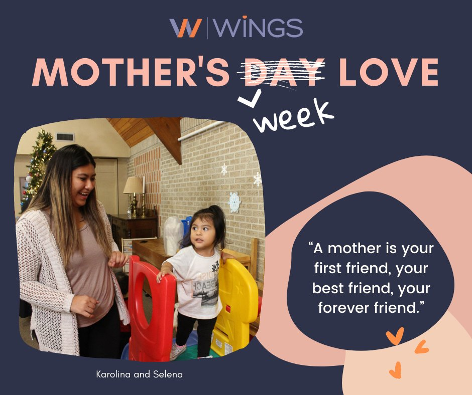 """test Twitter Media - The bond between mother and child begins before birth and lasts a lifetime. WiNGS walked side-by-side with new 116 new mothers in 2020 as they navigated the """"new normal"""". Happy Mother's Day Karolina!!! Learn more about our Nurse-Family Partnership program: https://t.co/ssE0L5PKpV https://t.co/n8Gioi6DNj"""