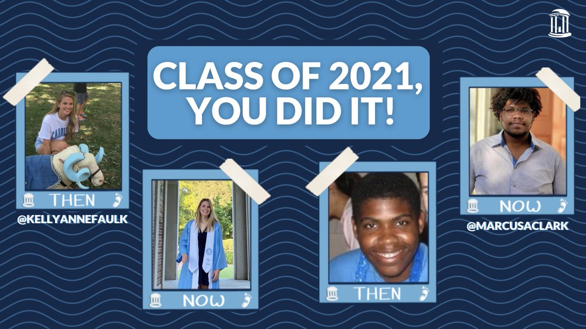 #UNC21, during a study break share a photo from your first year at #UNC and a photo from your last. You may see it again soon 👀🎓 Submit your photos ➡️ https://t.co/h1cnlzcp7k https://t.co/fveuM3ITgC