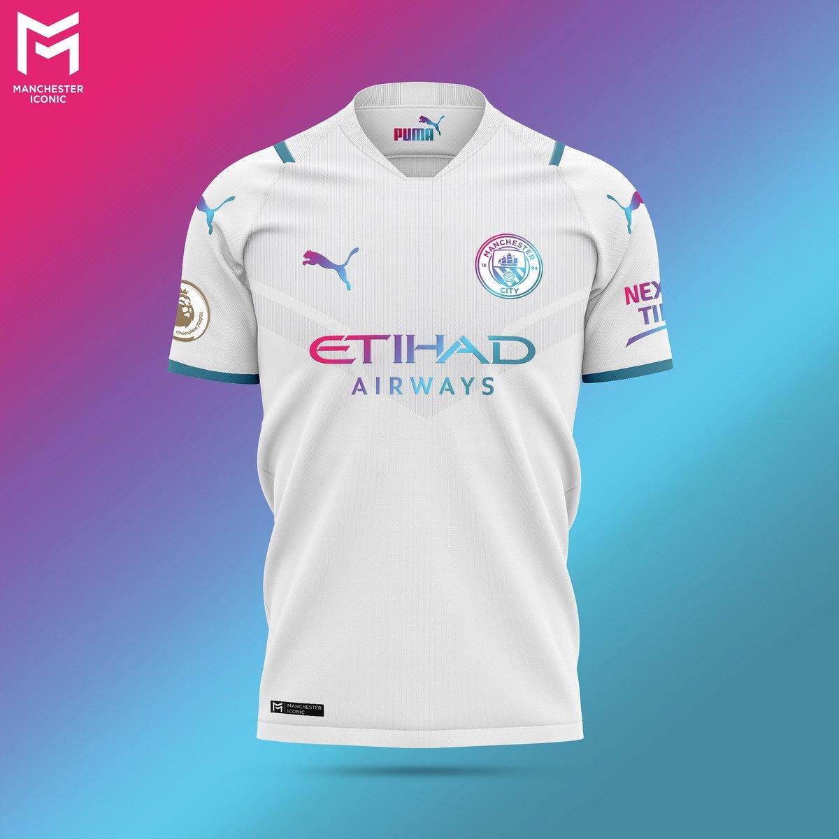 Manchestericonic On Twitter The Mancity 21 22 Away Kit