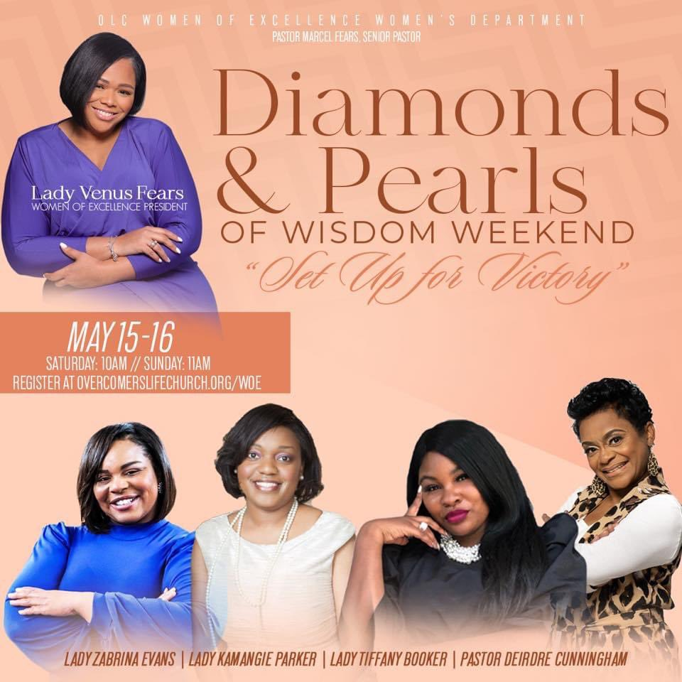 The Women of @overcomerslife is preparing for an amazing weekend! https://t.co/q2EwyZXWY8