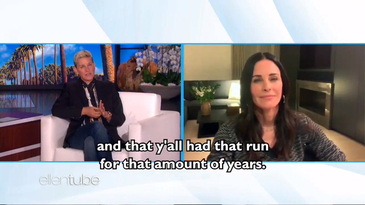.@CourteneyCox has a lot of emotions after the #Friends reunion.