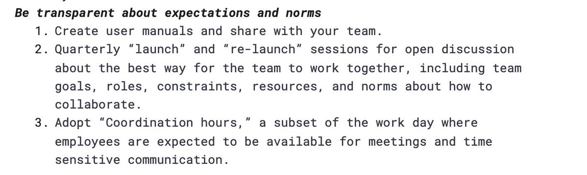 "We're talking ""User Manuals"" and unspoken norms in 10 minutes!  👉 https://t.co/VUNp2MzGiX https://t.co/ap6EUIZojf"