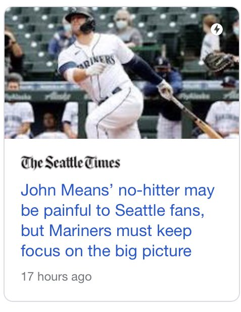 the way mariners headlines are specifically targeted to soothe the generational trauma of their fanbase is one of the funniest things in sports https://t.co/JPinv6WEBN