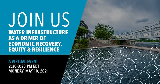For Infrastructure Week 2021, we're joining water sector leaders to discuss the critical need to #LeadWithInfrastructure and modernize #waterinfrastru...