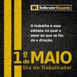Image for the Tweet beginning: #TBT Dia do Trabalho lá