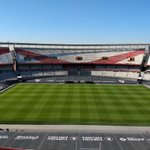 Image for the Tweet beginning: The River Plate pitch today.⁦@SISPitches⁩