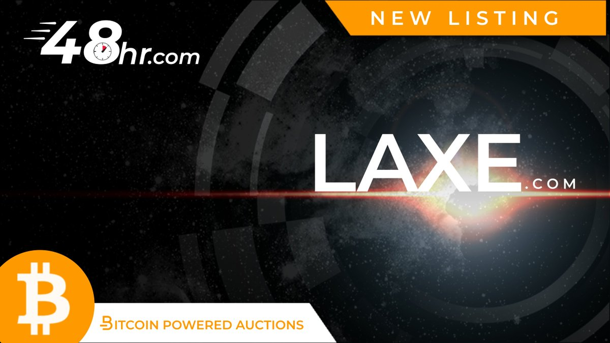  NEW LISTING: LAXE .com   Time is running, bid now https://t.co/AsktKc8qTR https://t.co/Y1scgbiuDN