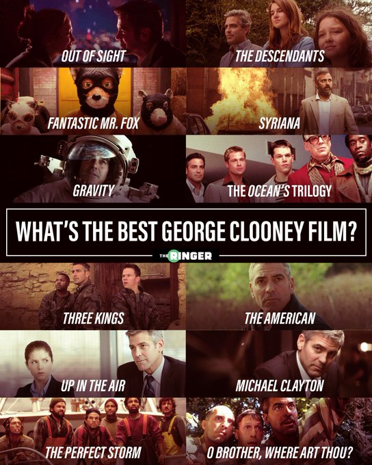 Happy birthday, George Clooney! What\s the best film from the actor\s catalog?