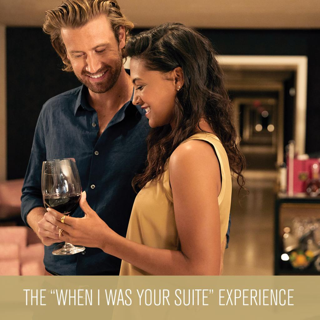 """test Twitter Media - The """"When I Was Your Suite"""" Experience  gets you a two-night stayin an MGM Grand suite, floor seats, a $200 F&B credit per stay, two commemorative VIP laminates and more.   Hit the link to grab yours ➡️ https://t.co/p85ejygwLe https://t.co/6zOG9ZH58K"""