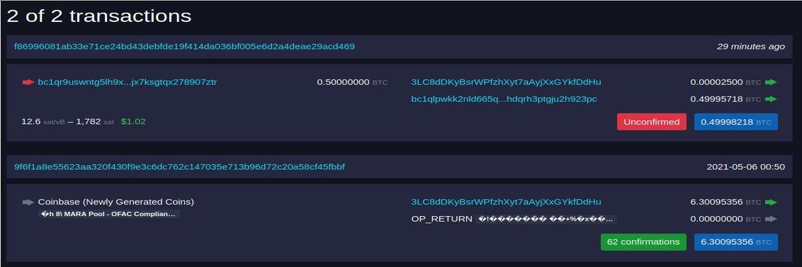bitcoin nyomvonal)