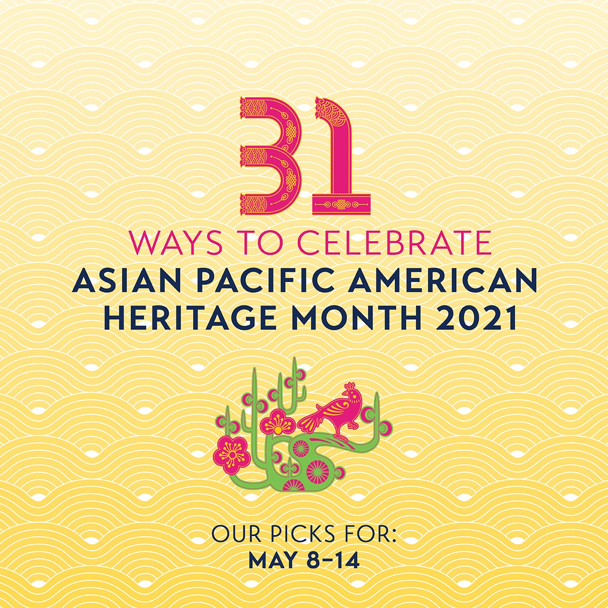 Join us as we continue to celebrate #APAHM through our daily calendar! This week's picks include our weekly Saturday art tours and a live discussion on U.S.–South Korea relation. Plus, check out our feature on soups of Houston's Asiatown! » https://t.co/Ko71HzrPLy https://t.co/AiHkIudoSO