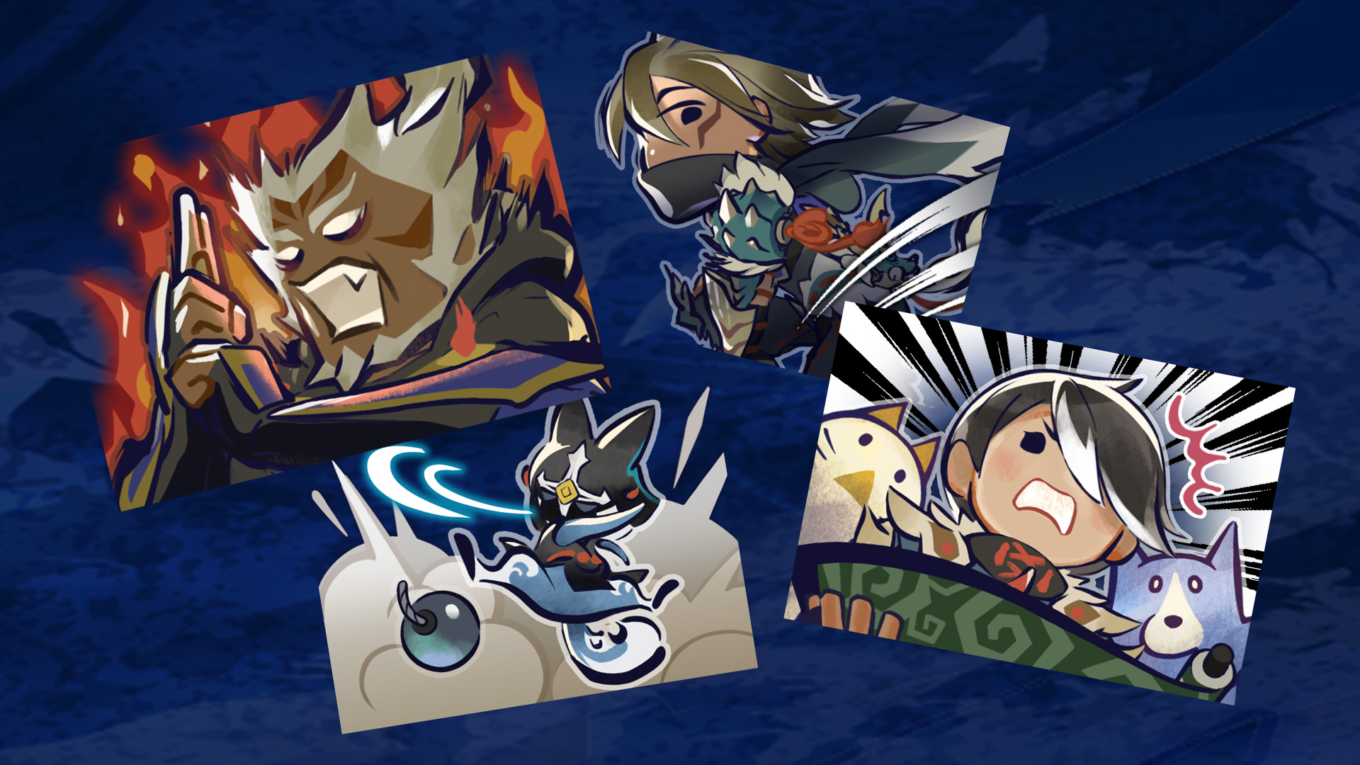 Monster Hunter Rise todas las misiones de evento eventos recompensas pegatinas ninja